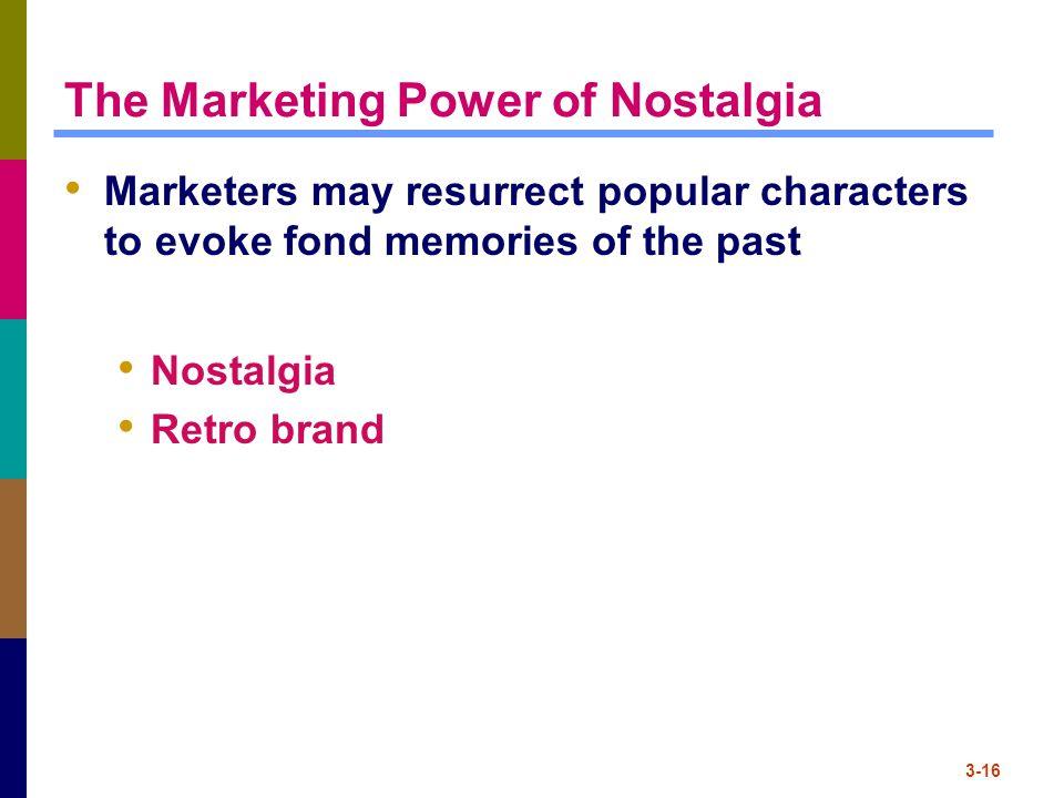The Marketing Power of Nostalgia