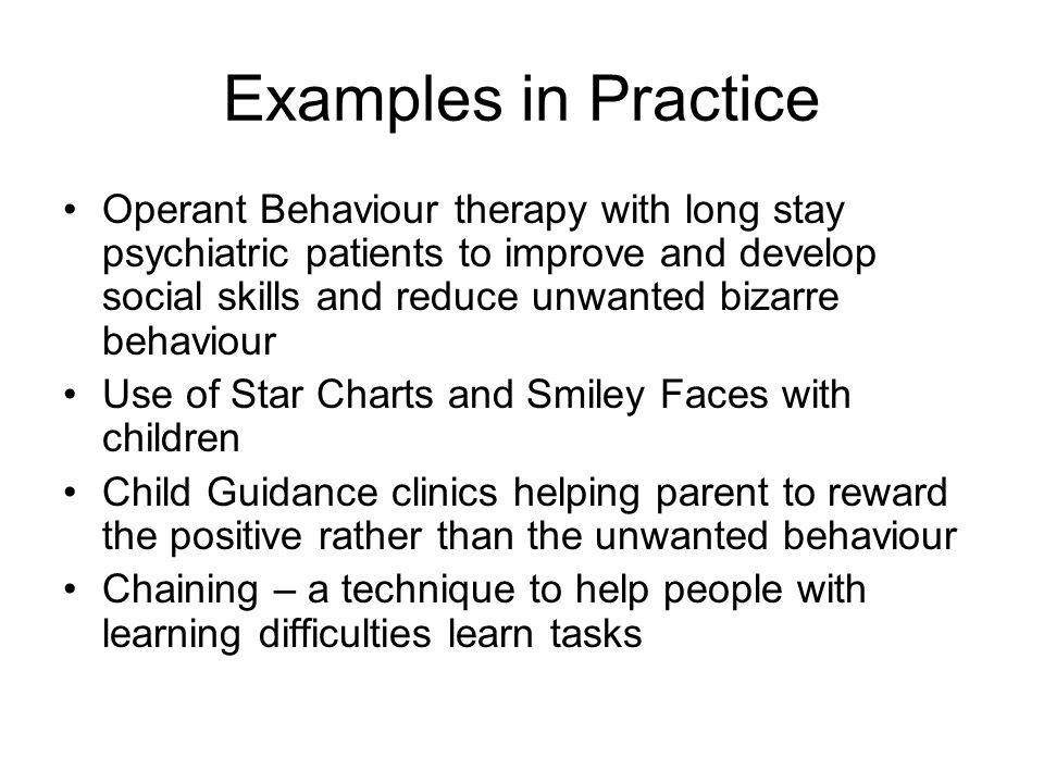 Examples in Practice