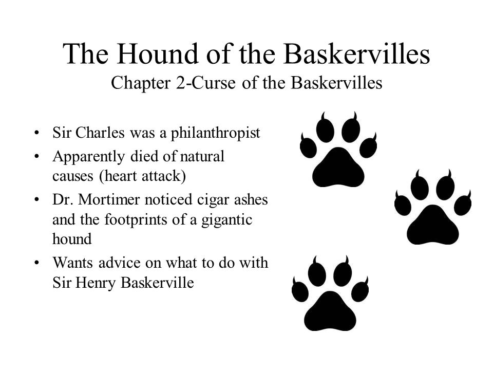 The Hound of the Baskervilles Chapter 2-Curse of the Baskervilles