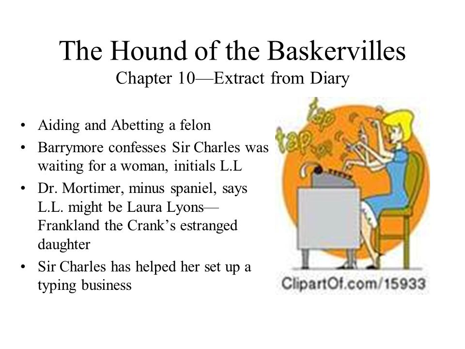 The Hound of the Baskervilles Chapter 10—Extract from Diary