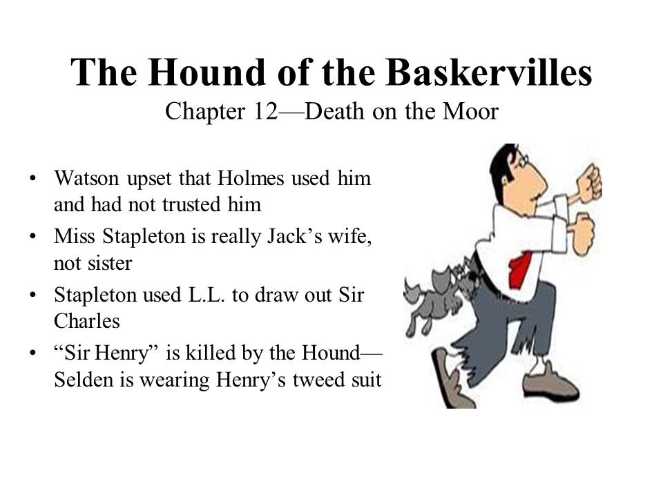 The Hound of the Baskervilles Chapter 12—Death on the Moor