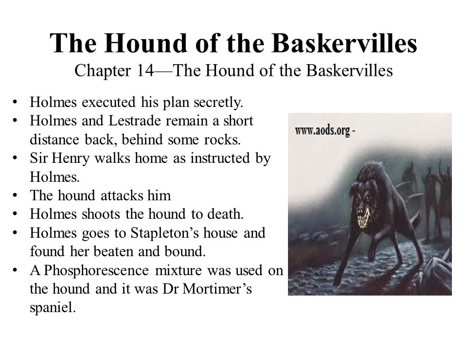 The Hound of the Baskervilles Chapter 14—The Hound of the Baskervilles