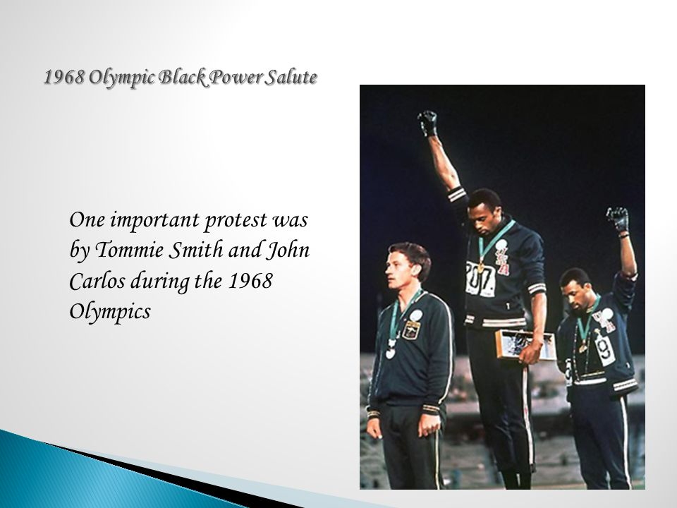 1968 Olympic Black Power Salute