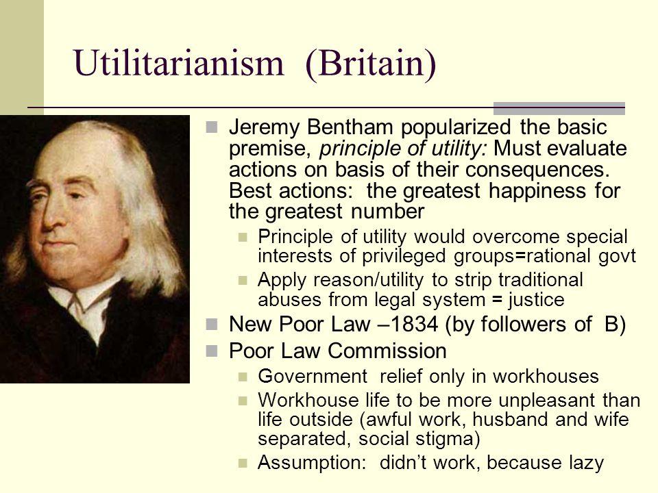 Utilitarianism (Britain)