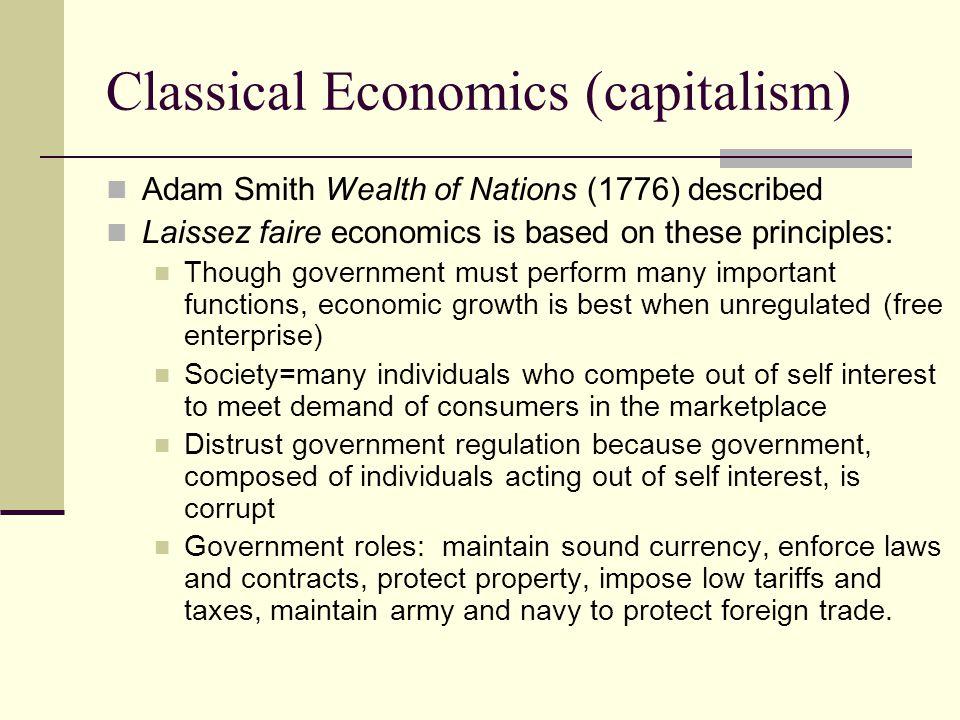 Classical Economics (capitalism)