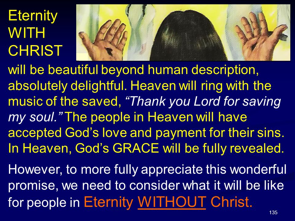 Eternity WITH CHRIST