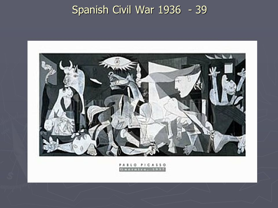 Spanish Civil War 1936 - 39
