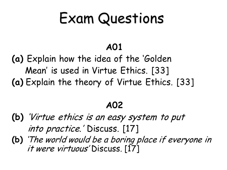 a summary of aristotles notion of virtue Why does aristotle introduce the notion of the proper function of man  aristotle argues that virtue should not be identified with emotions, .