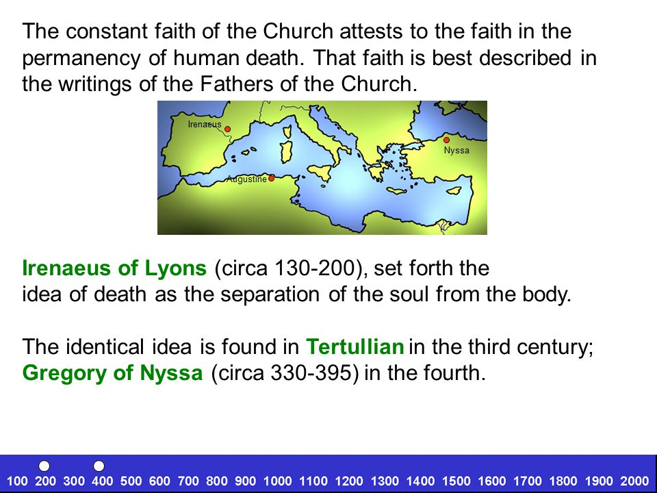 The constant faith of the Church attests to the faith in the