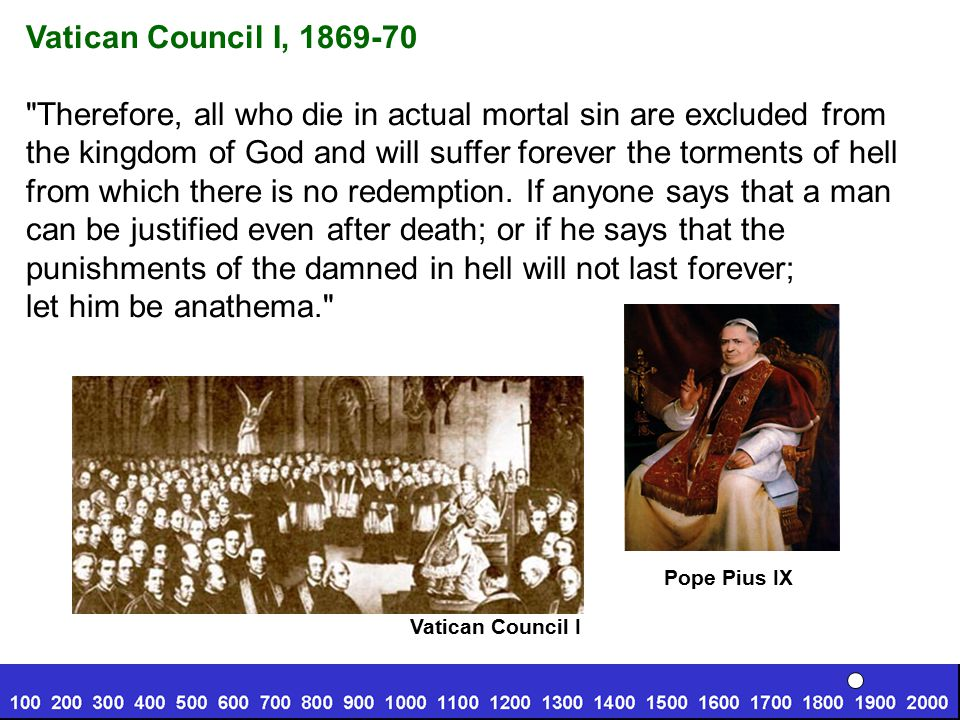 Therefore, all who die in actual mortal sin are excluded from