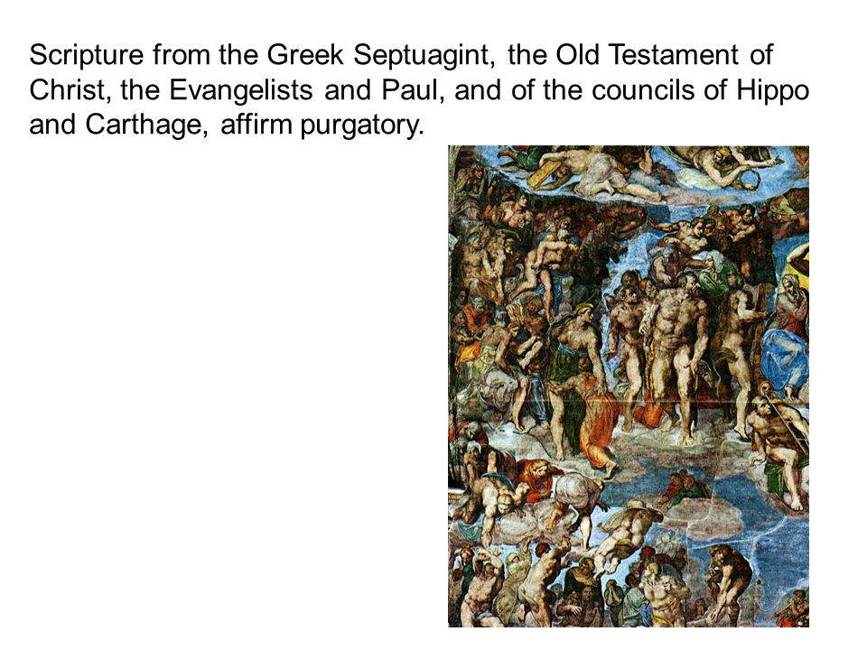 Scripture from the Greek Septuagint, the Old Testament of