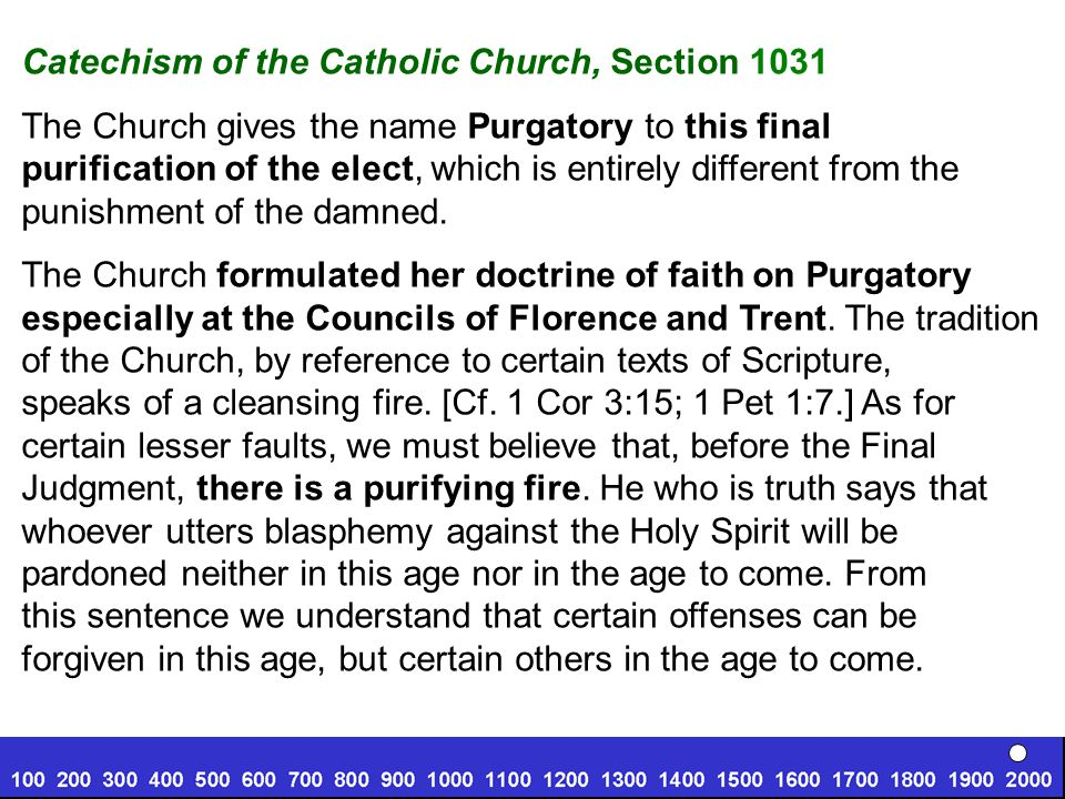 Catechism of the Catholic Church, Section 1031