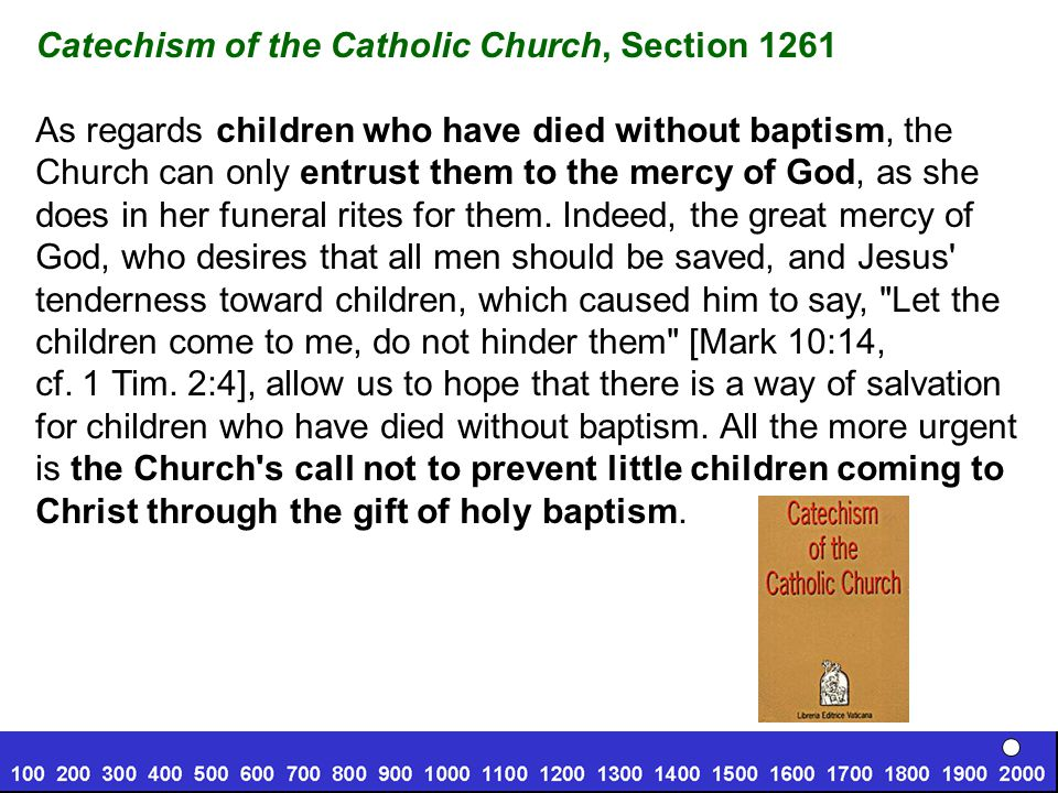 Catechism of the Catholic Church, Section 1261