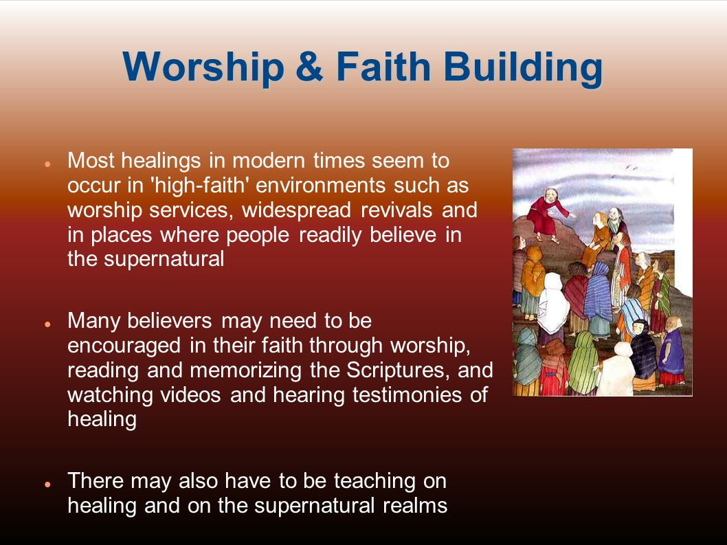 Worship & Faith Building