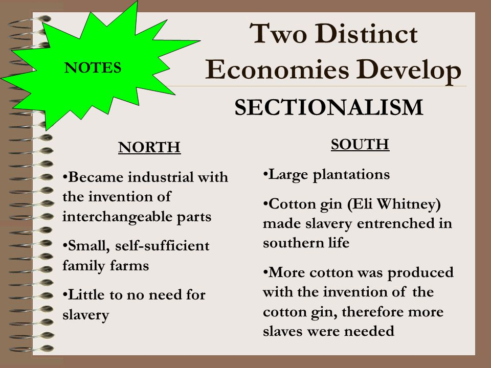 Two Distinct Economies Develop