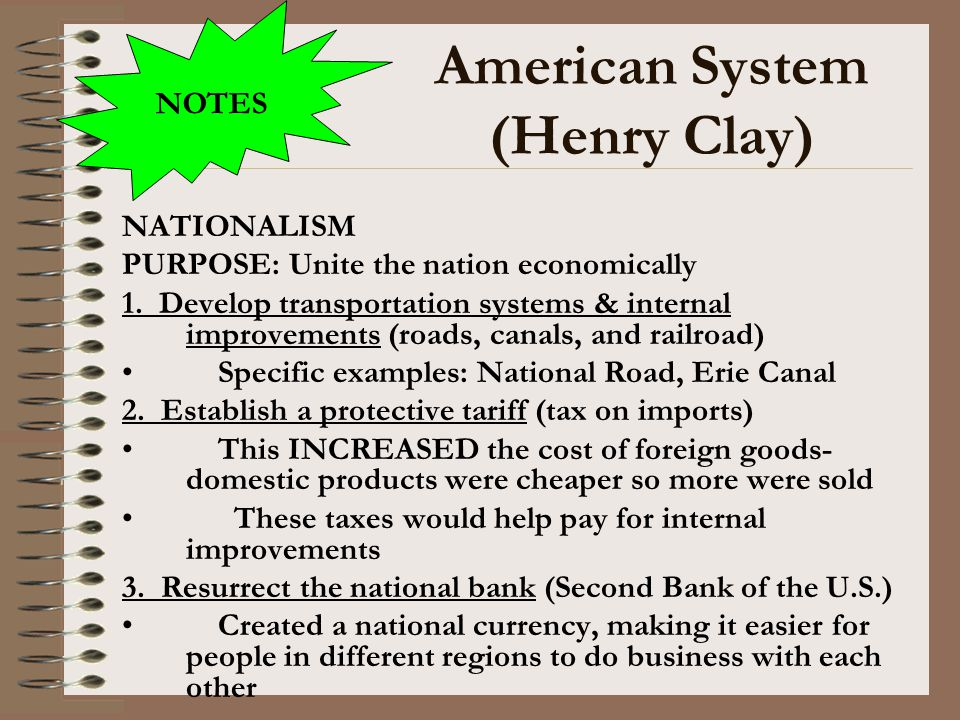American System (Henry Clay)