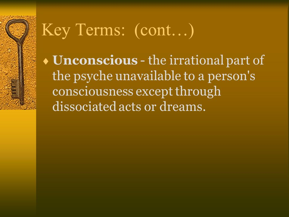 Key Terms: (cont…)
