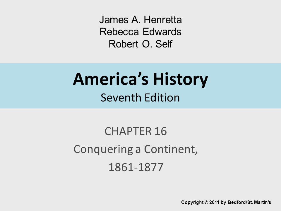 America's History Seventh Edition