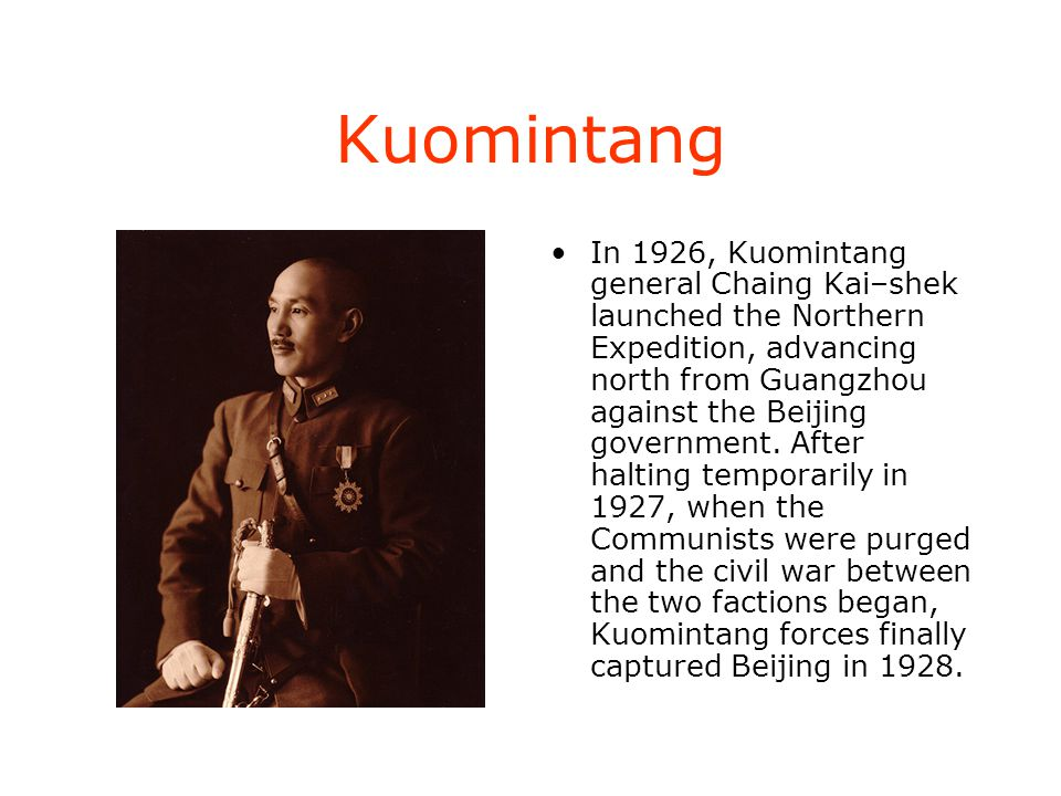 Kuomintang