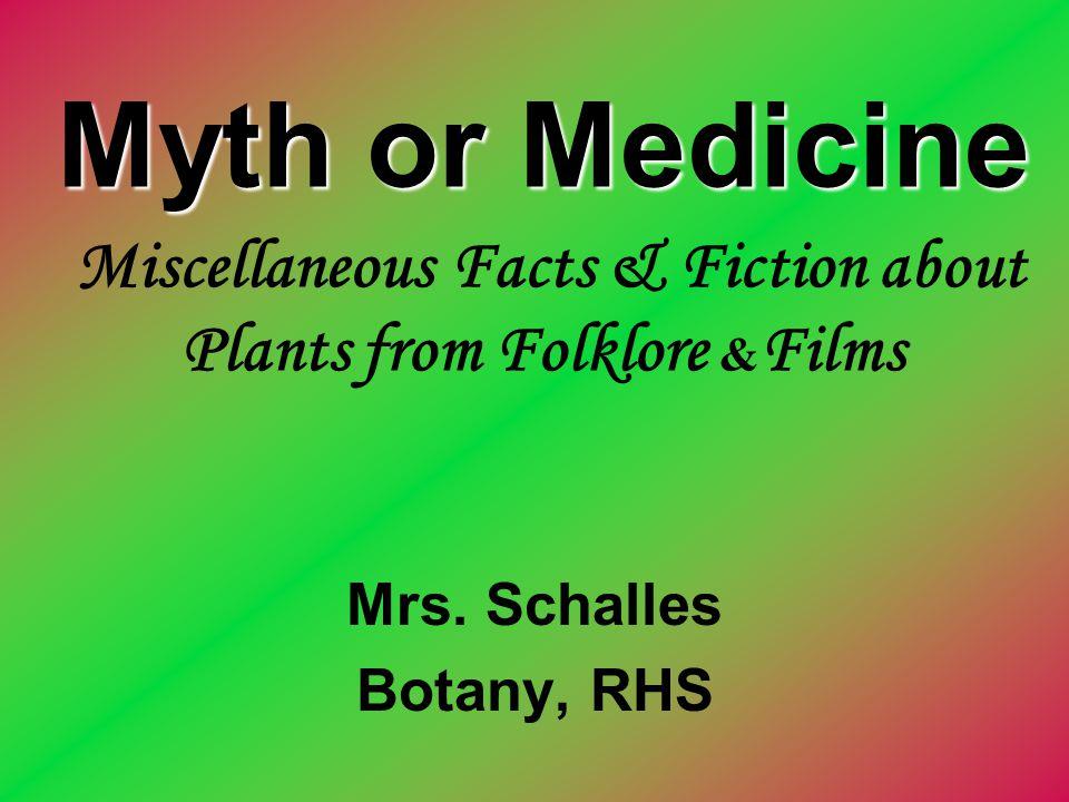 Mrs. Schalles Botany, RHS