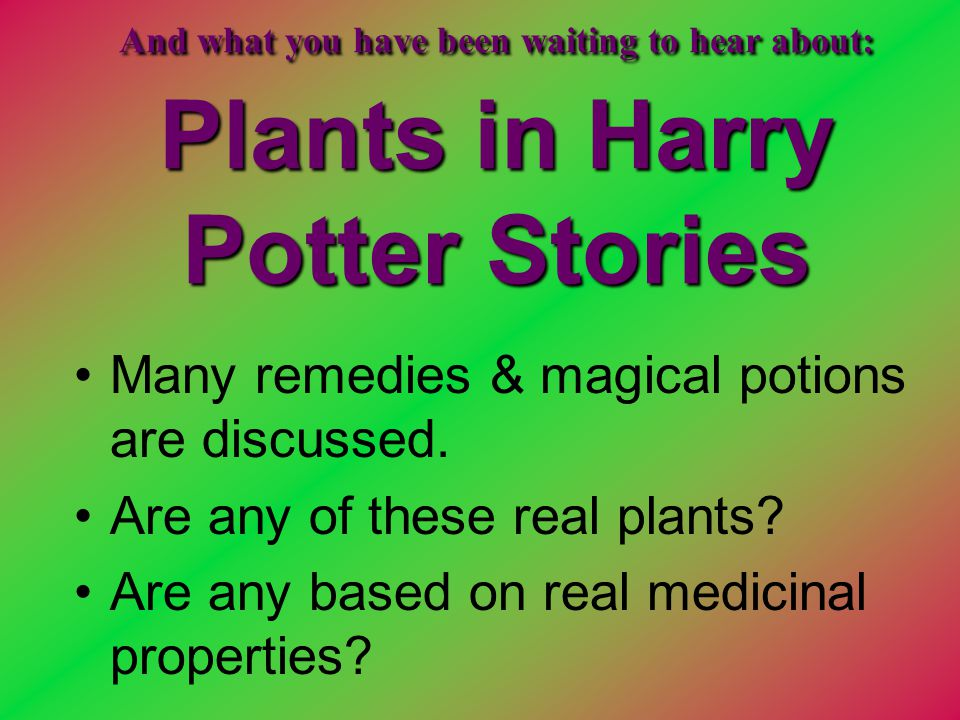 Many remedies & magical potions are discussed.