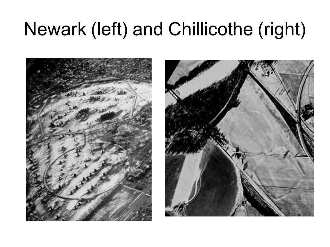 Newark (left) and Chillicothe (right)