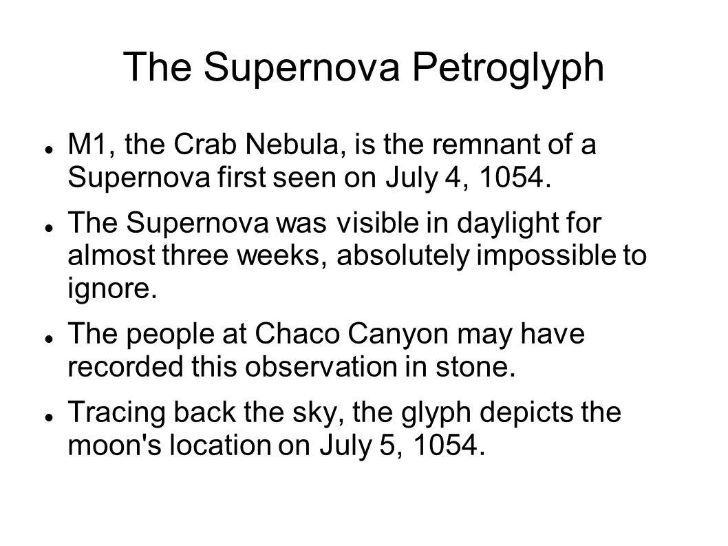 The Supernova Petroglyph