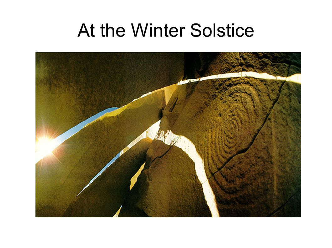 At the Winter Solstice