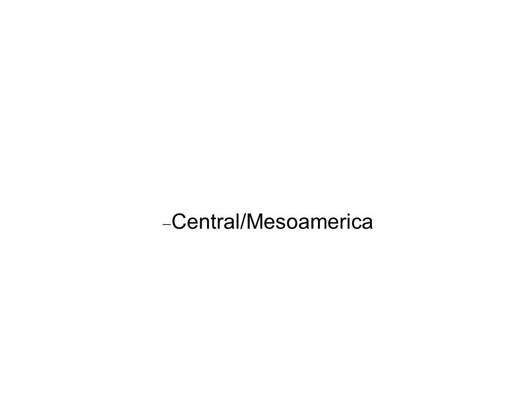 Central/Mesoamerica