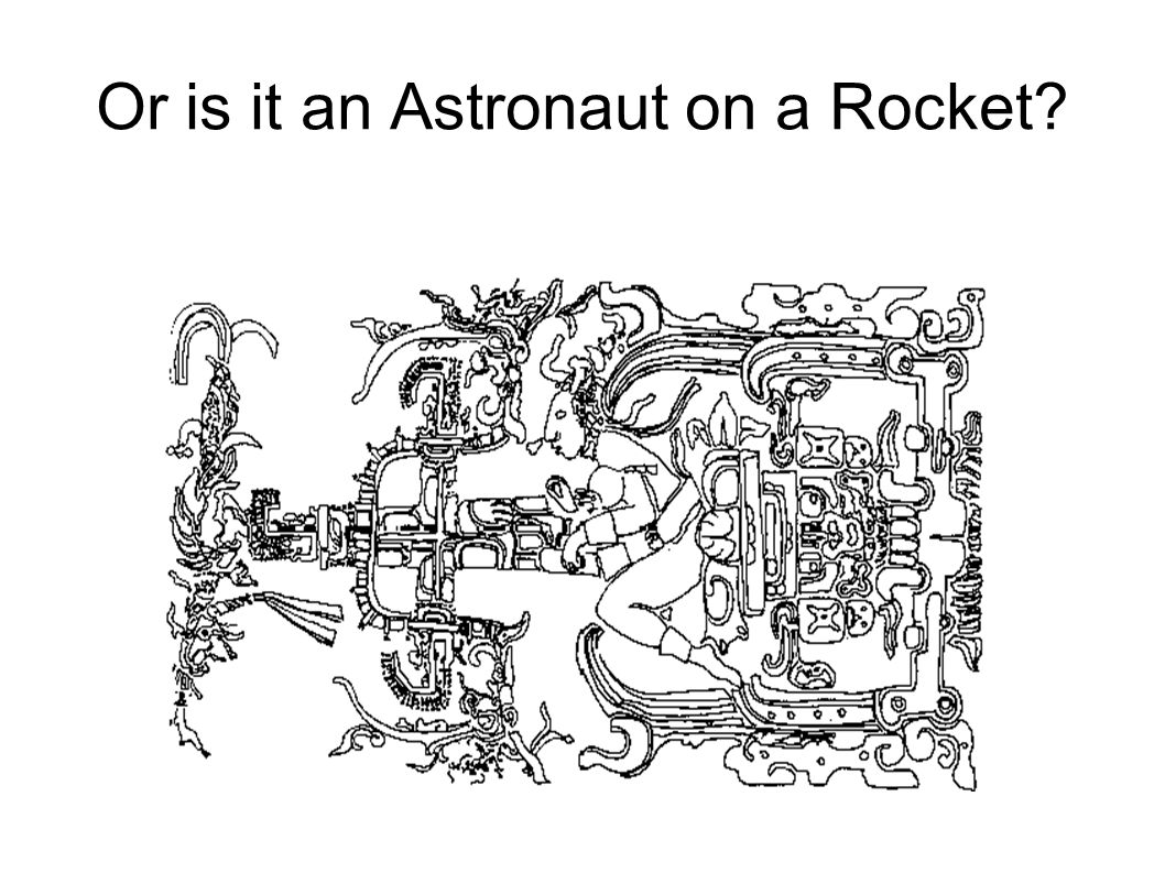 Or is it an Astronaut on a Rocket