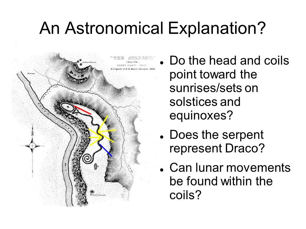 An Astronomical Explanation