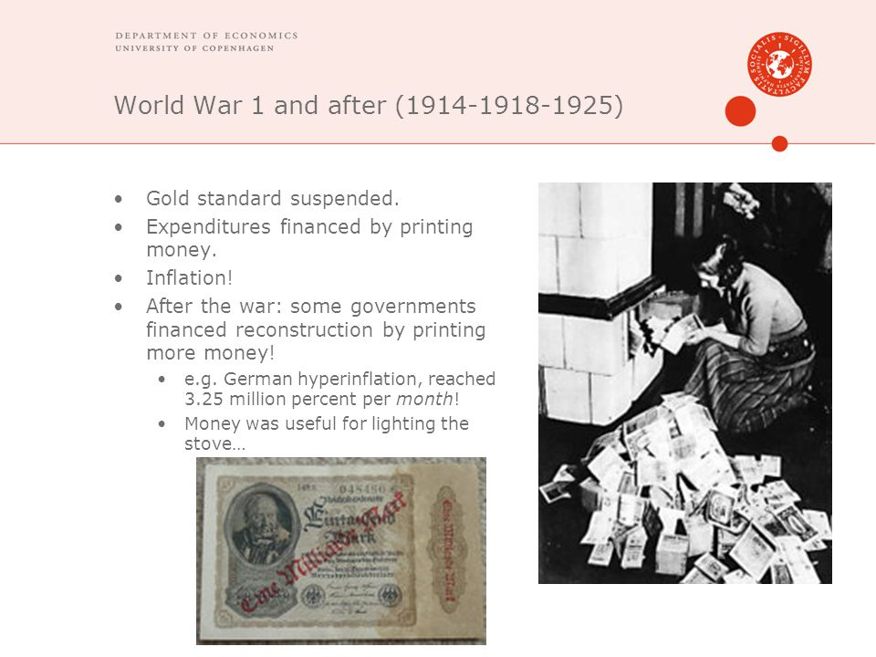 World War 1 and after (1914-1918-1925)