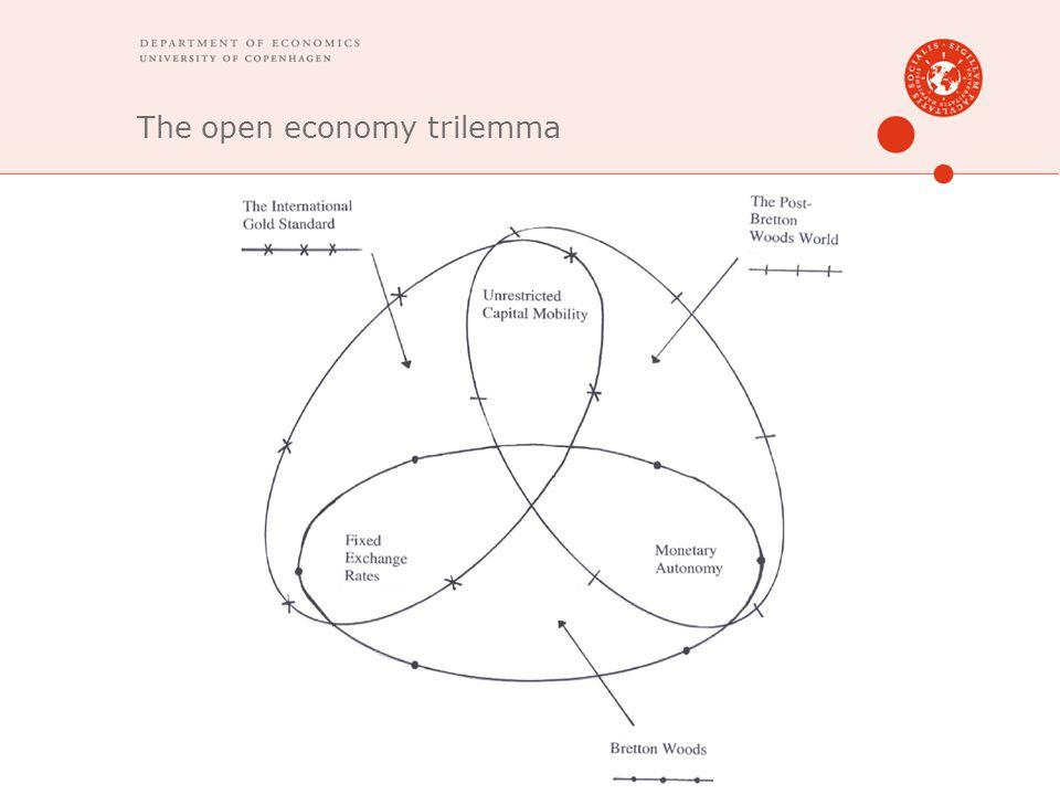 The open economy trilemma