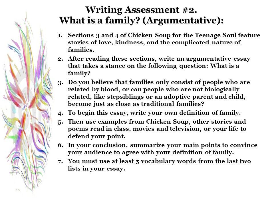 family assessment 2 essay