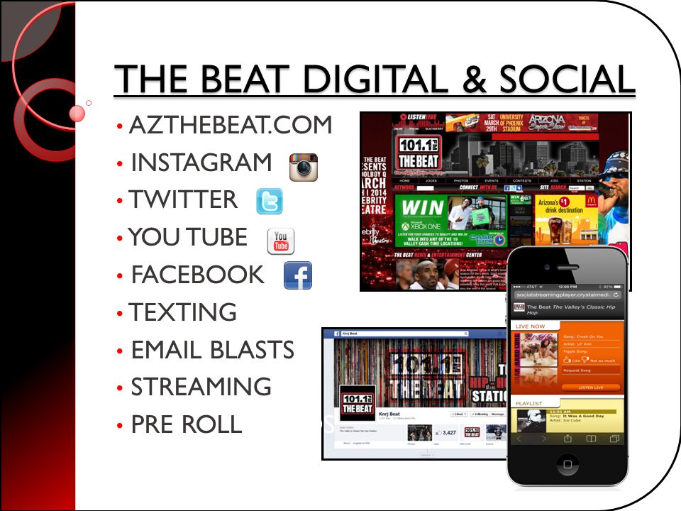 THE BEAT DIGITAL & SOCIAL