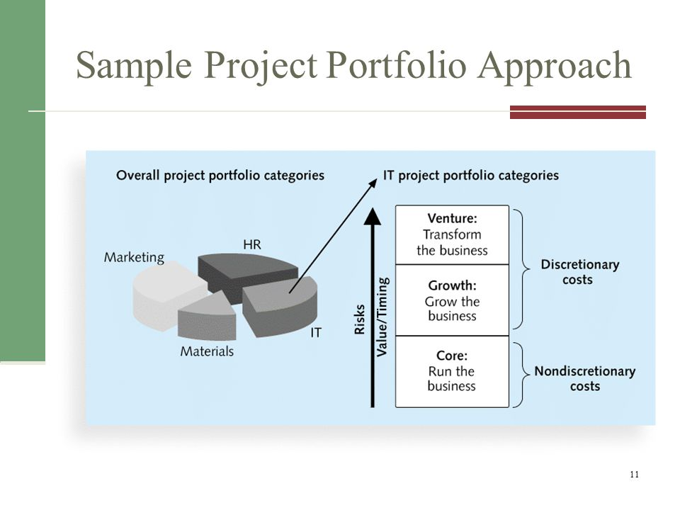 Sample Project Portfolio Approach