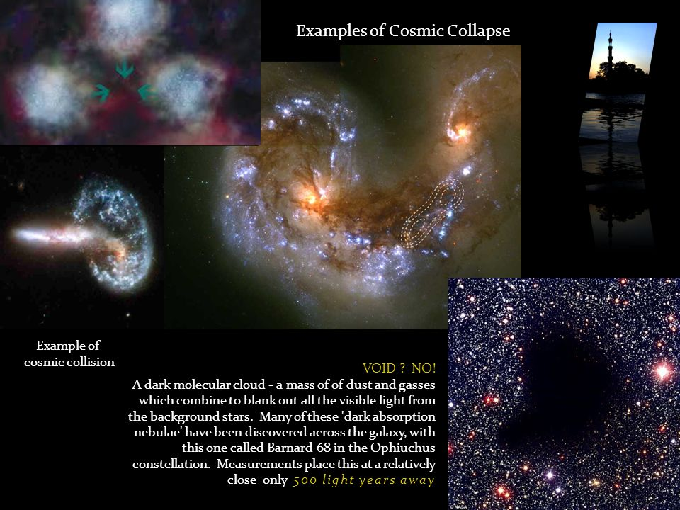 Examples of Cosmic Collapse