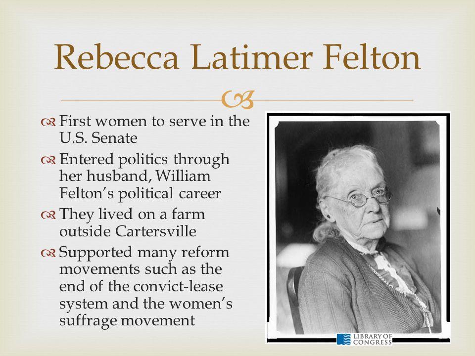 Rebecca Latimer Felton