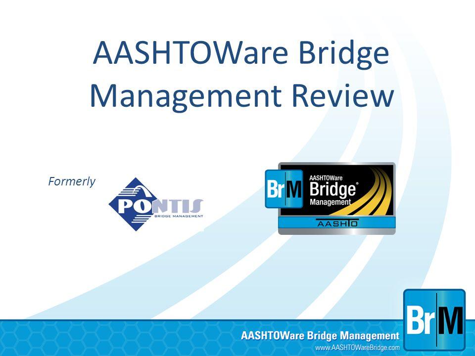 AASHTOWare Bridge Management Review