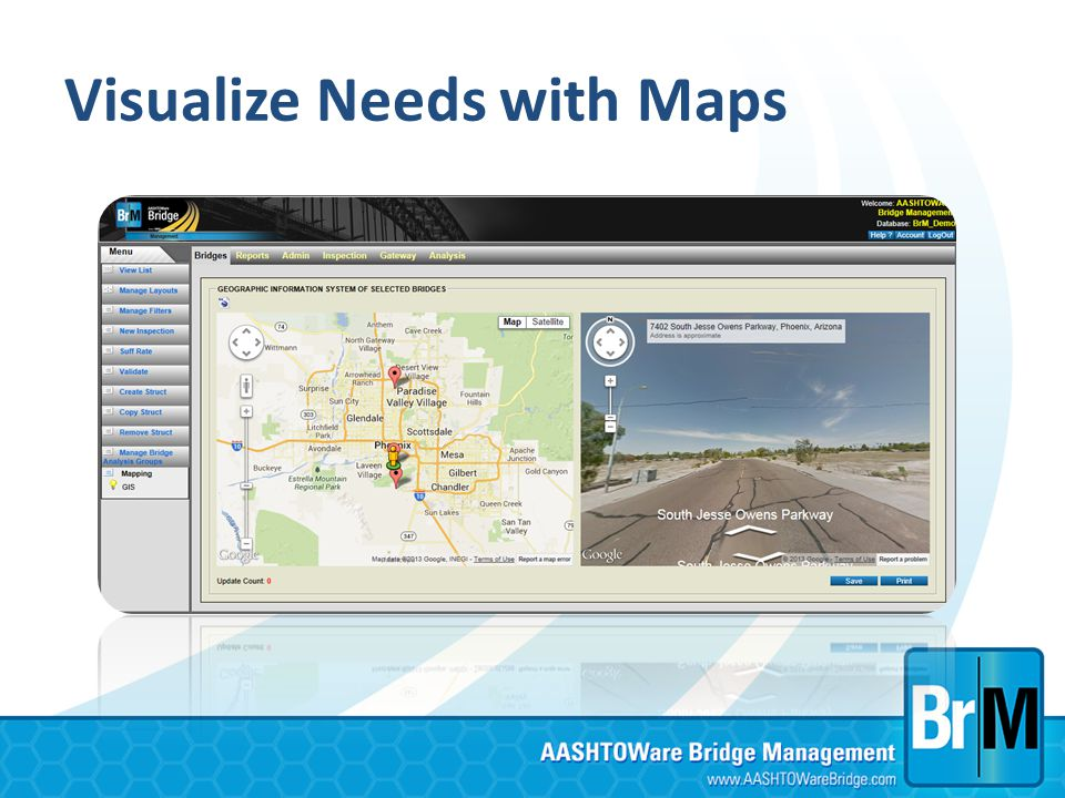 Visualize Needs with Maps
