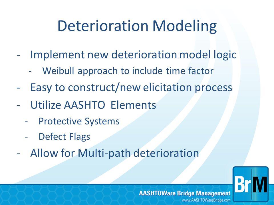 Deterioration Modeling