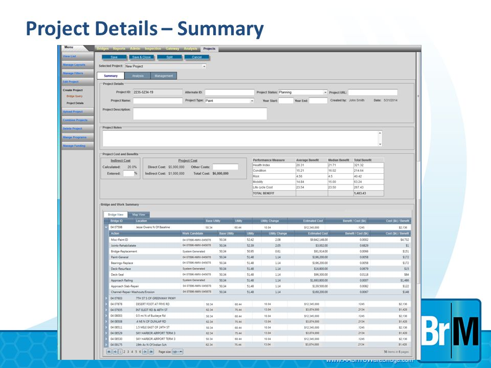 Project Details – Summary
