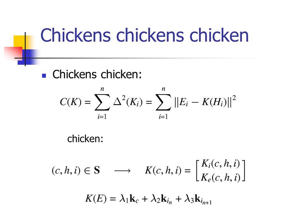 Chickens chickens chicken