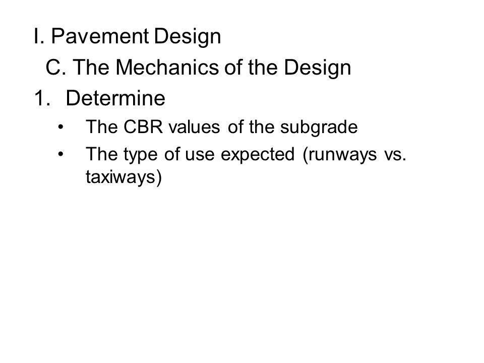 C. The Mechanics of the Design Determine