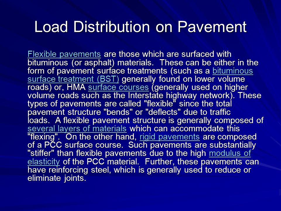 Load Distribution on Pavement
