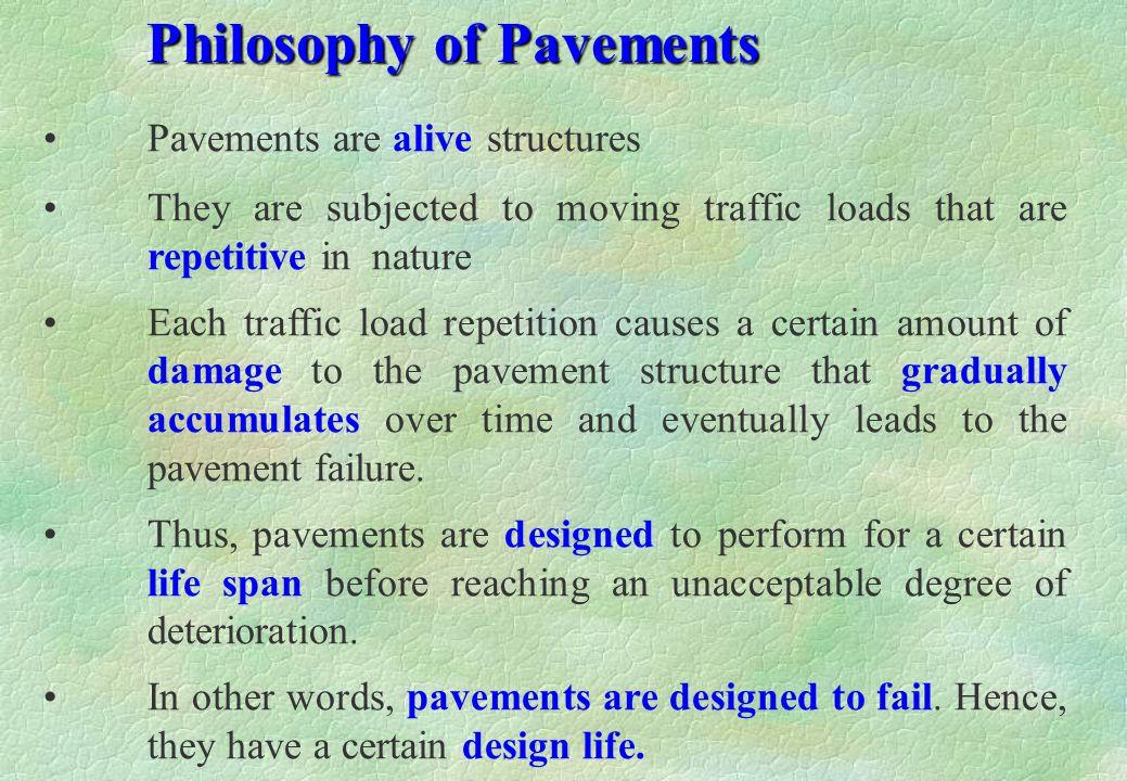 Philosophy of Pavements