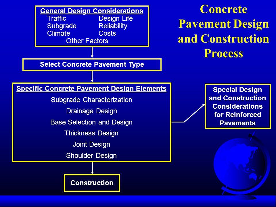 Concrete Pavement Design and Construction Process