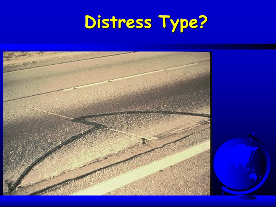 Distress Type What is this distress What causes it Will additional slab thickness solve this problem