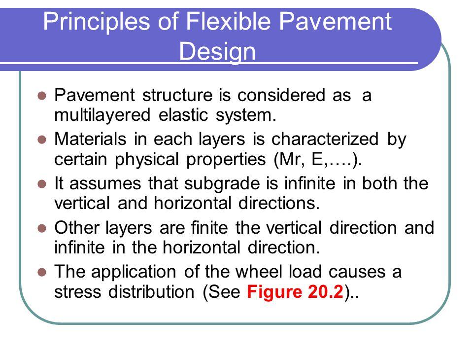 Principles of Flexible Pavement Design