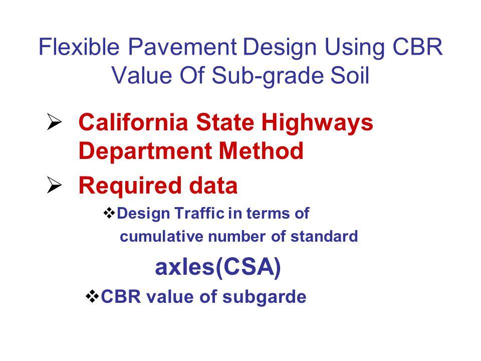 Flexible Pavement Design Using CBR Value Of Sub-grade Soil